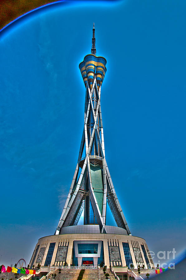 Zhengzhou Tv Tower Photograph