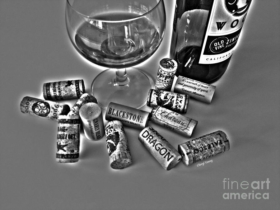 Zin Black And White Photograph  - Zin Black And White Fine Art Print