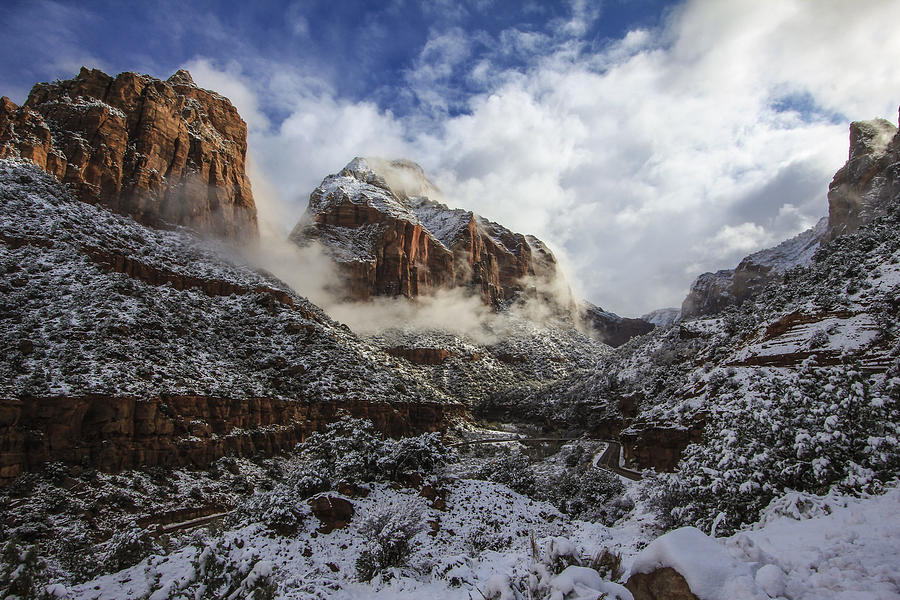 Zion National Park Photograph  - Zion National Park Fine Art Print