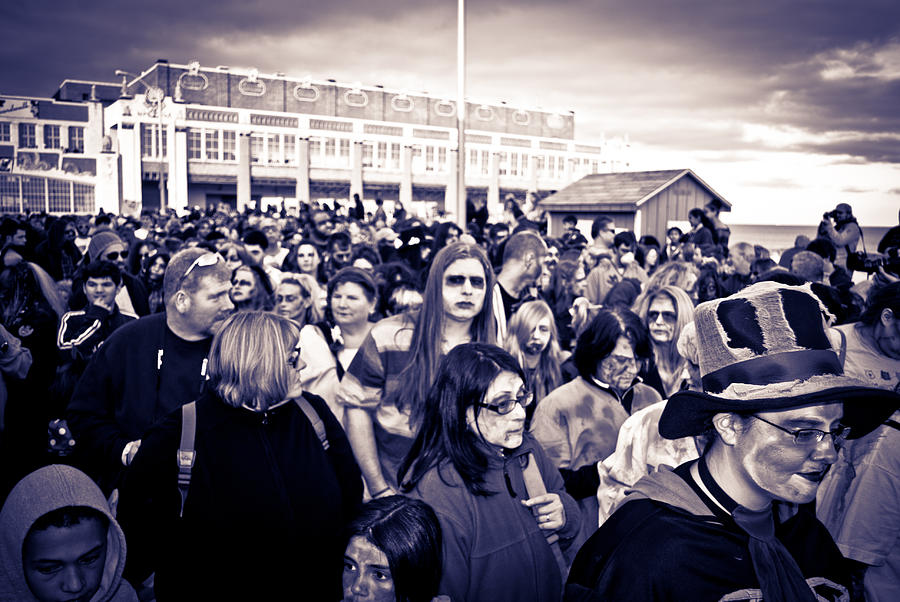 Zombie Walk Asbury Park Photograph