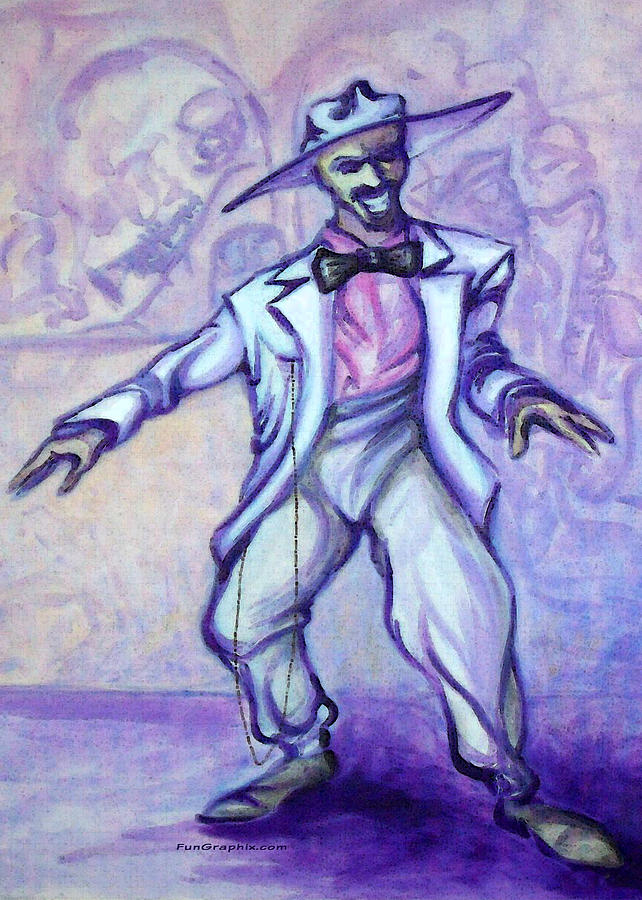 Zoot Suit Painting