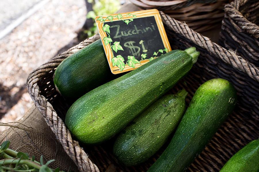 Zucchini Photograph