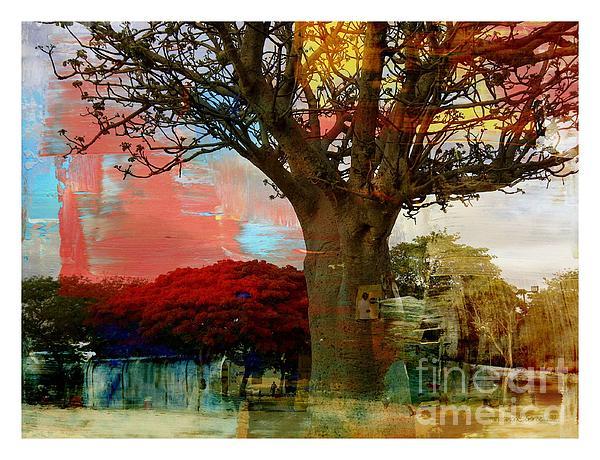 Baobab Print by Fania Simon