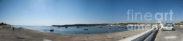 Bugibba Harbour Malta Print by Guy Viner
