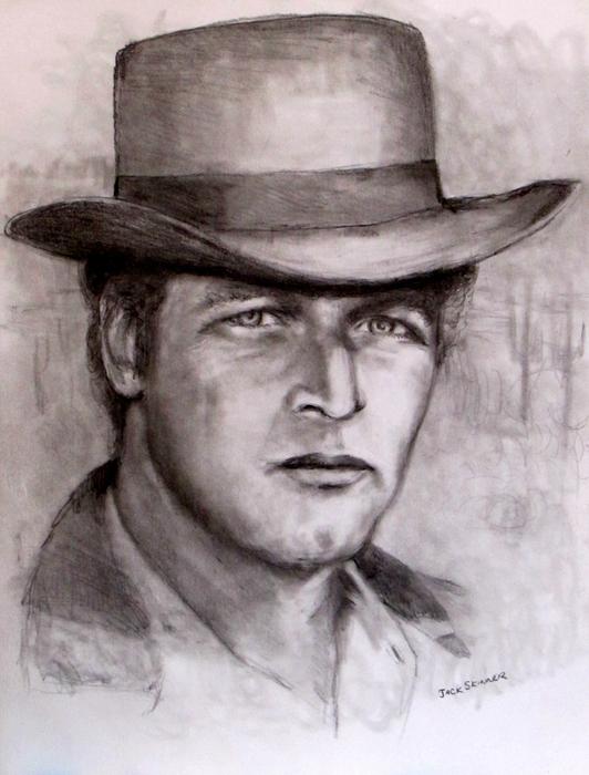 Butch Cassidy Print by Jack Skinner