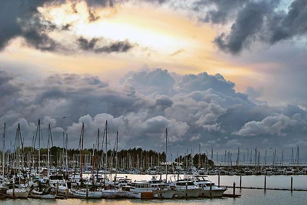 Alena Newcomb -  Cumulonimbus clouds