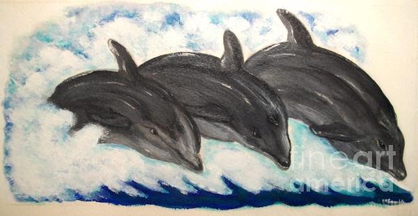 Nancy Rucker -  Dolphin Family of Three
