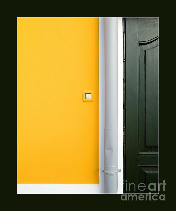 Door Print by Odon Czintos