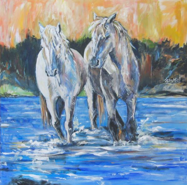 Fresh Water Print by Debora Cardaci