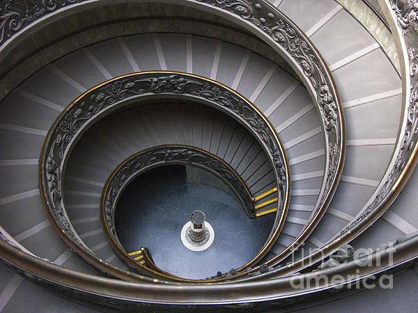 Heart Of The Vatican Museum Print by Sandra Bronstein