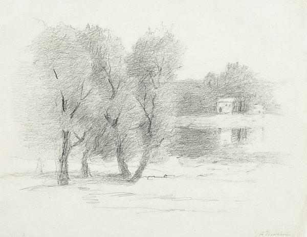 Landscape - Late 19th-early 20th Century Print by John Henry Twachtman