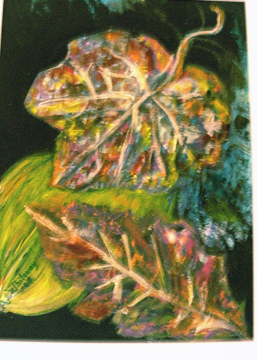 Leaves From My Imagination Print by Anne-Elizabeth Whiteway