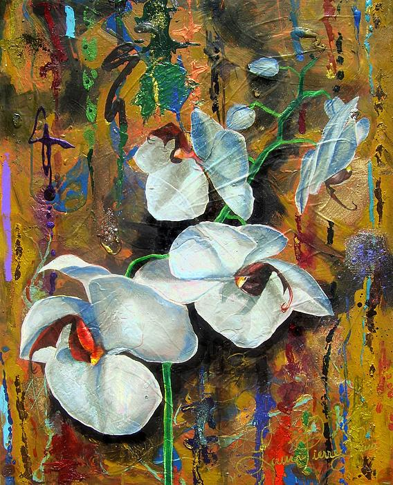 Orchid Yo Print by Laura Pierre-Louis