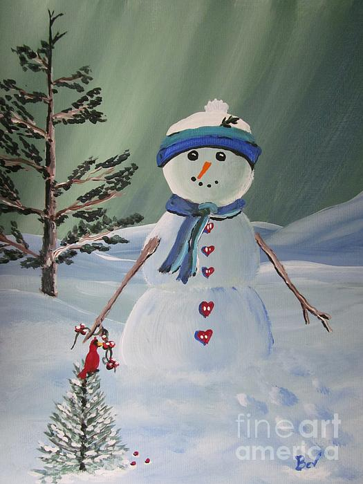 Beverly Livingstone -  Snowman 1