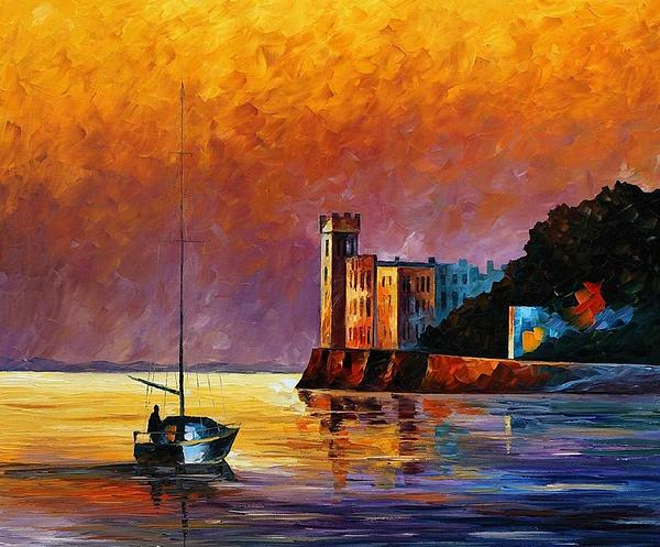 Leonid Afremov -  Trieste Gulf