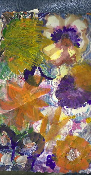 Whimsical Floral Print by Anne-Elizabeth Whiteway