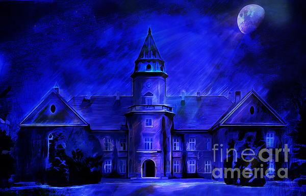 Winter Castle  Print by Andrzej Szczerski