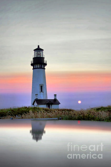 Christian Flores-Munoz -  Yaquina Head At Sunset HDR