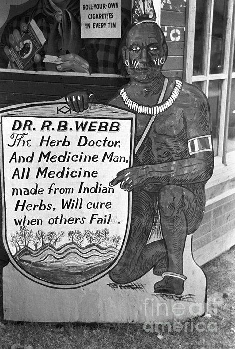 Medicine Man, 1938 Print by Granger