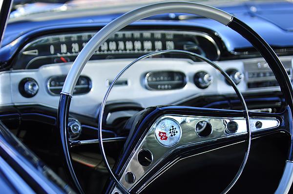 Jill Reger - 1958 Chevrolet Impala Steering Wheel