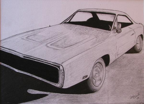 1970 Dodge Charger Drawing