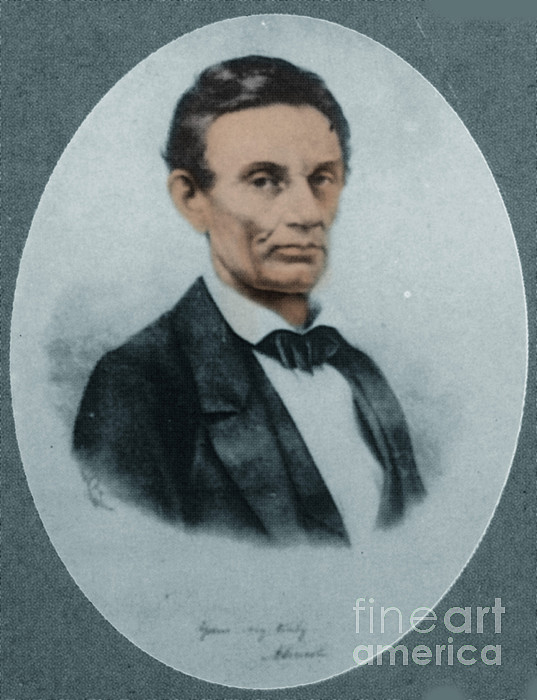 Abraham Lincoln, 16th American President Print by Science Source