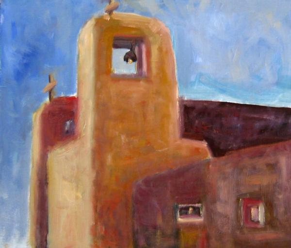 Acoma Church Painting