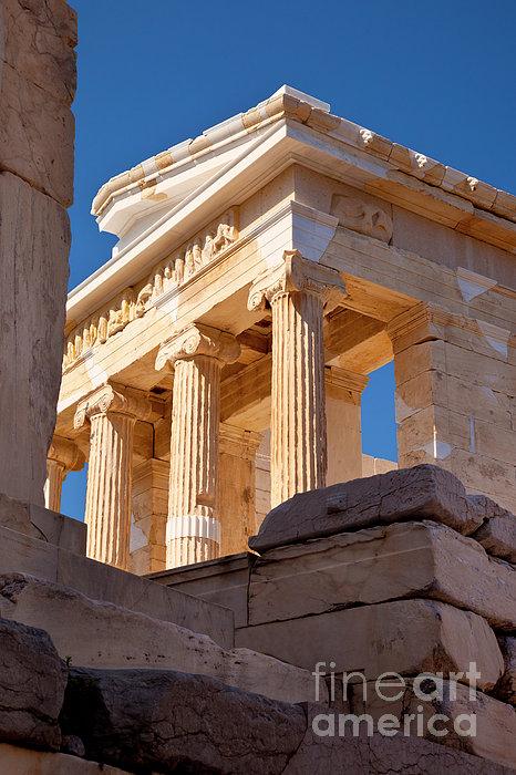 Acropolis Temple Print by Brian Jannsen