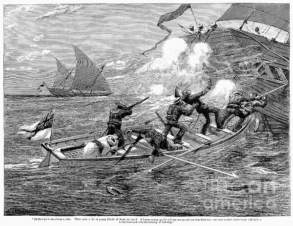 Africa: Slave Trade, 1892 Print by Granger