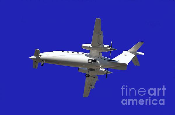 Airplane Print by Mats Silvan