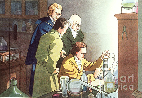 Alessandro Volta, Italian Physicist Print by Science Source