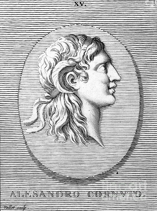 Alexander The Great (356-323 B.c.) Print by Granger