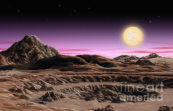 Alpha Centauri System Print by Lynette Cook