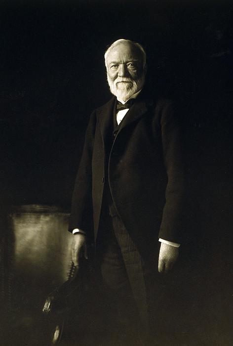 Andrew Carnegie, April 5, 1913 Print by Everett