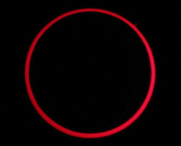 Annular Solar Eclipse Print by Laurent Laveder
