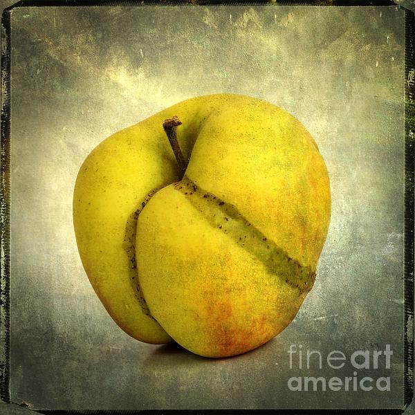 Apple Textured Print by Bernard Jaubert