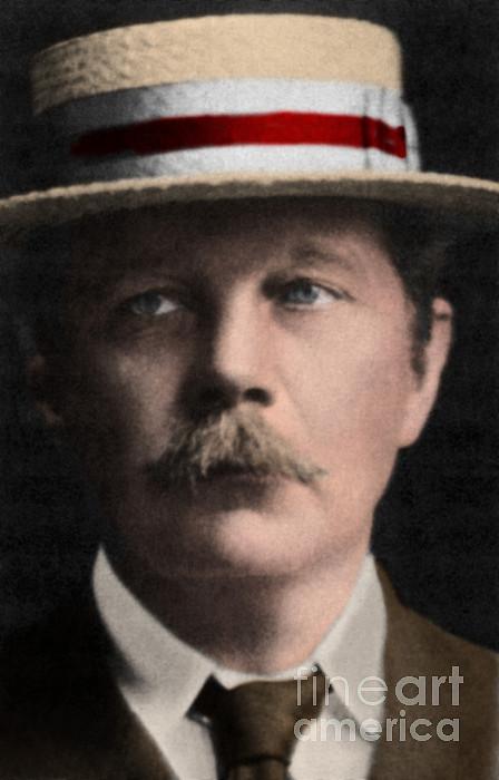 Arthur Conan Doyle, Scottish Author Print by Science Source