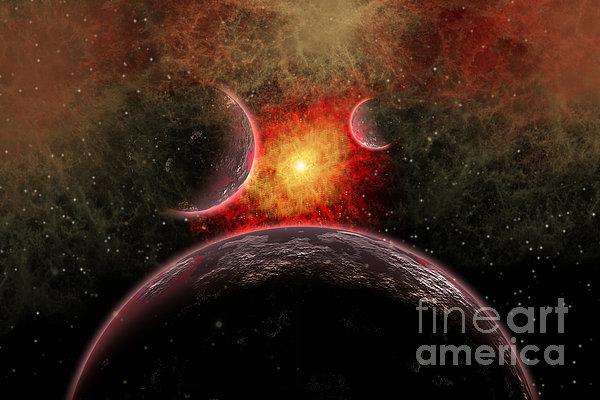 Artist Concept Illustrating The Stellar Print by Mark Stevenson