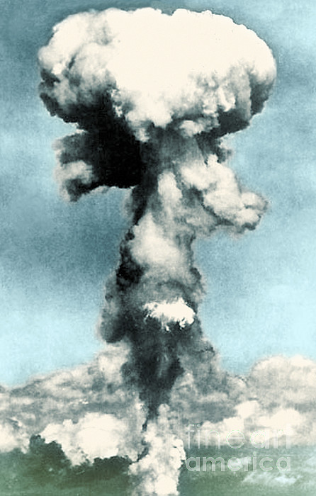 Atomic Bombing Of Nagasaki Print by Science Source