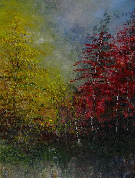 Autumn Sunshine Print by Sherry Robinson
