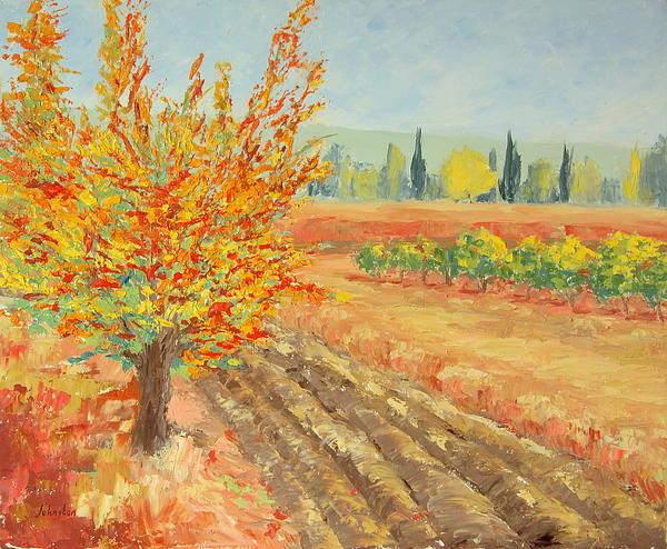 Jeannette Johnston - Autumn Tree