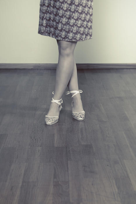 Ballerinas Print by Joana Kruse