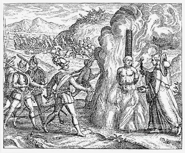 Bartolome De Las Casas Print by Granger
