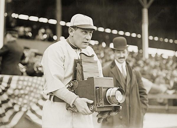 Baseball: Camera, C1911 Print by Granger