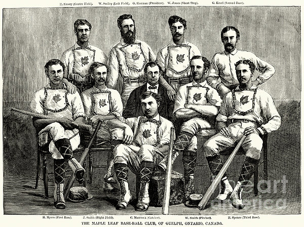 Baseball: Canada, 1874 Print by Granger