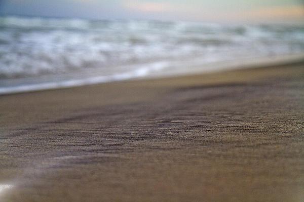 Beach Print by Betsy A  Cutler