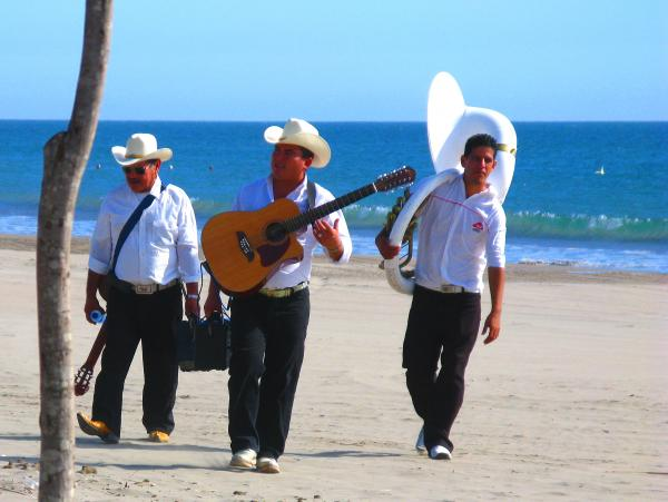Beach Music By Michael Fitzpatrick Print by Olden Mexico