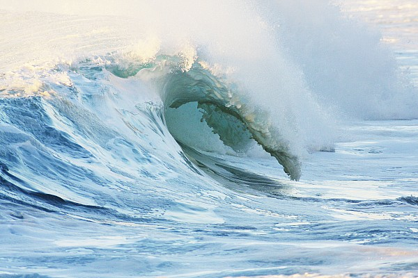 Beautiful Wave Breaking Print by Vince Cavataio - Printscapes