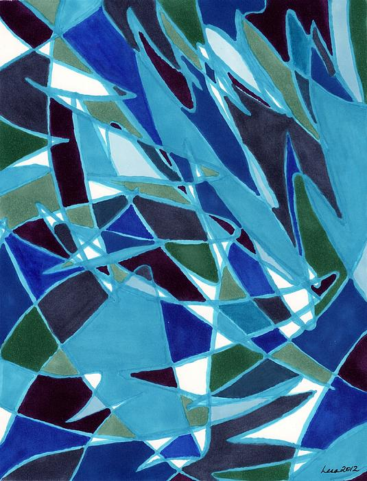 Lesa Weller - Blue Blaze
