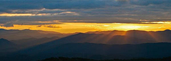 Bill Martin - Blue Ridge Sunset